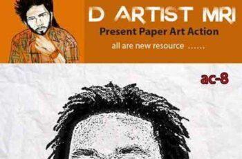 Paper Art Action 8163581 8