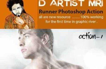 Runner Photoshop Action 7938365 9
