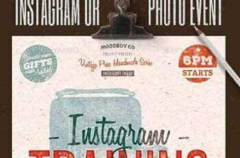 Instagram Photography Event Flyer Poster 11893852 2