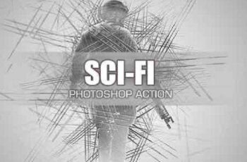 Sci-Fi - Photoshop Action #28 18412941
