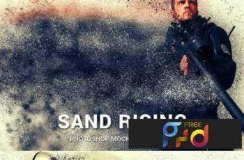 1801126 Sand Rising Photoshop Mock-ups 1902225 6