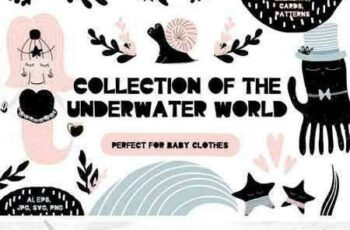 1801137 Collection of the Underwater World 2104224 2