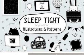 1801144 Sleep Tight Boys Edition B&W 2106166 7