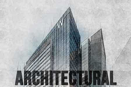 Architecture Sketch Art Photoshop Action 18366722 ...