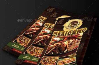 Mexican Menu Trifold 10395294 6