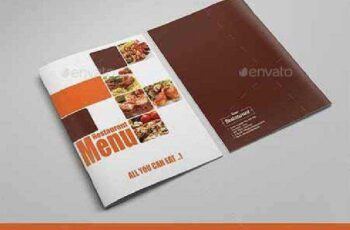 Clean Elegant Restaurant Menu 12237092 7