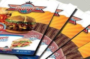 Fast Food Flyer I 3354947 4