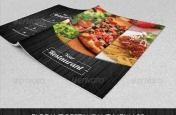 Elegant Restaurant Menu 03 6953680 5