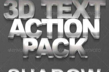 3D Text Action Pack 159181 4