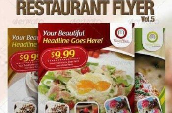 Restaurant Flyer Vol.5 2826296 7