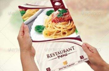 Modern & Elegant Restaurant Menu Templates 6666594 4