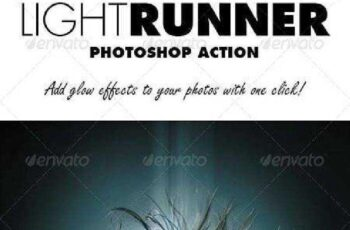 Light Runner Photoshop Action 7843547 5