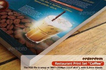 Restaurant Print Set Coffee 3614314 5