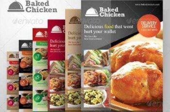 Modern Restaurant Food Menu Flyer Template 2305259 8
