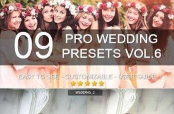 9 Pro Wedding Presets vol.6 8284354 4