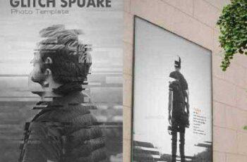 Glitch Square Photo Templates 12183965 9