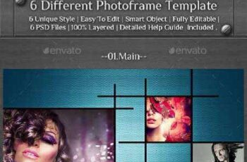 6 Different Photo Frame Template 13227037 3