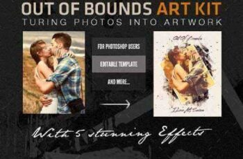 Out of Bounds Art FX - Artistic Photo Template 13271655 3
