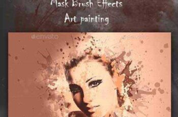 Artistic Brush Photo Frame 13335958 7