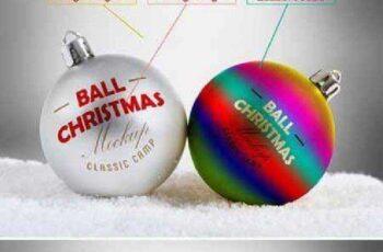 Christmas Ball Mock-Up 453091 6