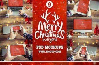 9 PSD Mockups Christmas 418485 4