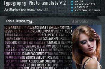 Typography Photo Template V2 10336509 6