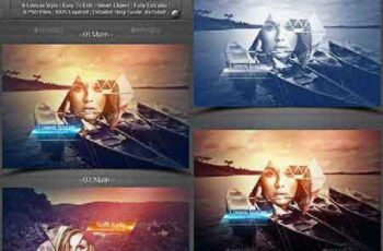 6 Abstract Photoframe Template 14387308 5