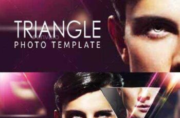 Triangle Photo Template 11474894 6