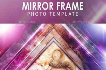 Mirror Frame Photo Template 11450702 2