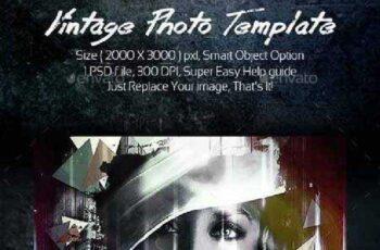 Vintage Photo Template 15094624 3