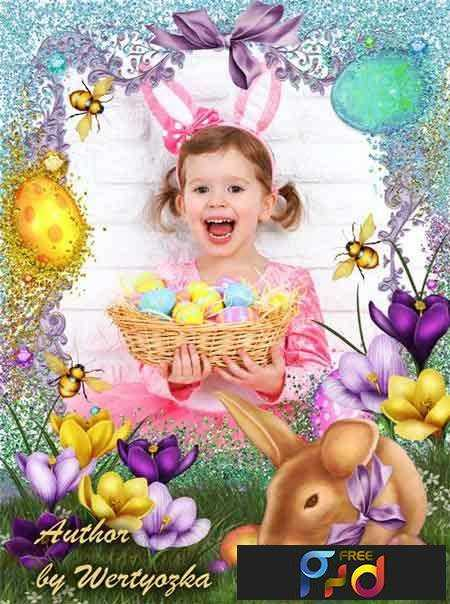 freepsdvn-com_1460965458_happy-easter-easter-frame-with-bunny-and-flowers