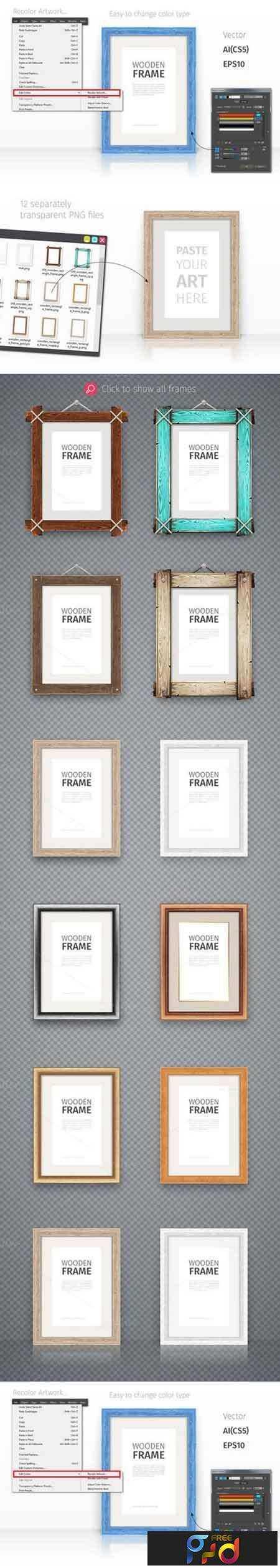 freepsdvn-com_1464042553_wooden-rectangle-frames-set-692389