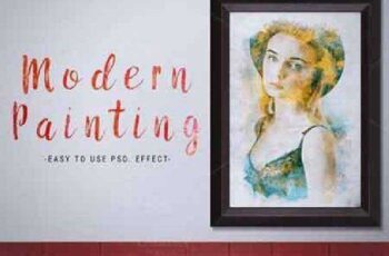 Modern Painting Template 742435 2