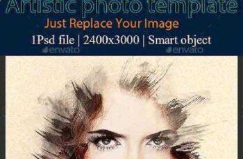 Artistic Photo Template 16472961 8