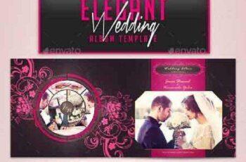 Elegant Wedding Album Template 16105470 4