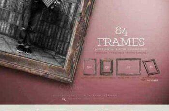 84 Wooden Frame 655600 3