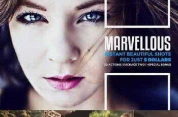Marvellous Actions Package Two 365300 3