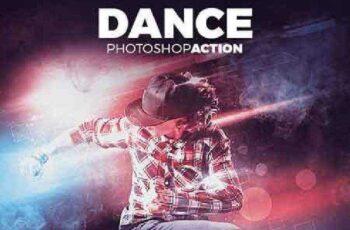 Dance Photoshop Action 15214821