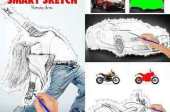 Smart Sketch Photoshop Action 16988682 4