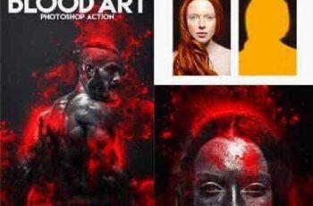 Blood Art Photoshop Action 16607276 4