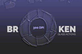 Broken Glass - Photoshop Actions 16496743 3