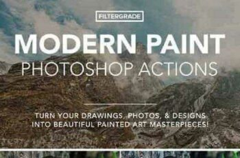 Modern Paint Photoshop Actions 791053 2