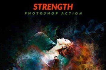 Strength Photoshop Action 17044585 3