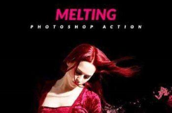 Melting Photoshop Action 17165673 5