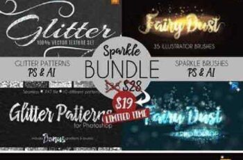 Sparkle and Glitter Bundle 800392