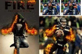 Fire Photoshop Action 17242101 4