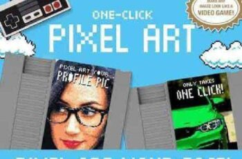 Pixel Art - One Click Actions 605160 4