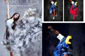 Particles Photoshop Action 17283359 3