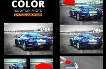 Color Isolation Background Photo Action 17391861 7