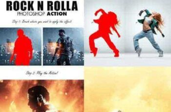 Rock N Rolla Photoshop Action 17427129 5